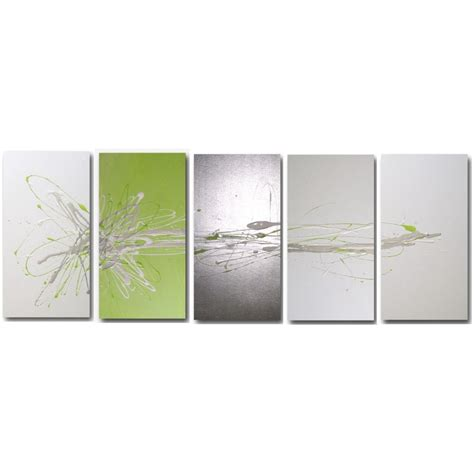 lime green wall decor decor abstract art modern canvas paintings buy abstract