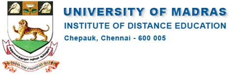 Mba Media Management Distance Education In Chennai by Of Madras Examination
