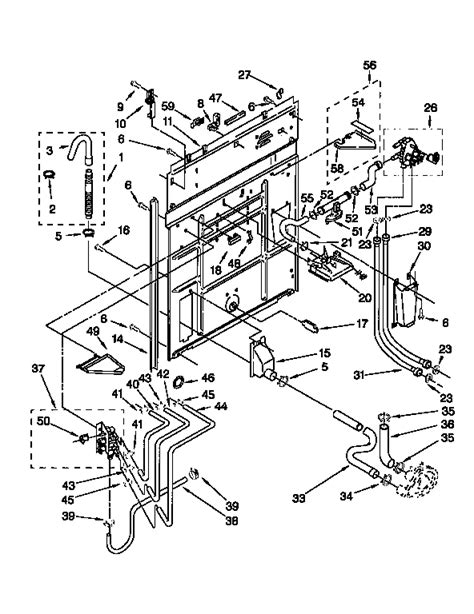kenmore 70 series washer parts diagram kenmore front load washer parts amana freezers diagram