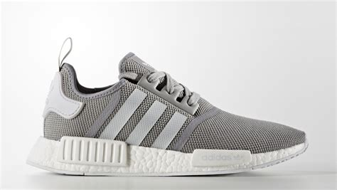Sepatu Adidas Nmd Runner Grey White adidas nmd runner pk solid grey sole collector