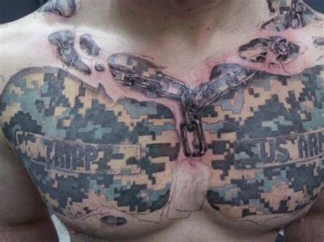 acu pattern tattoo 13 of the worst tattoos in the military we are the mighty
