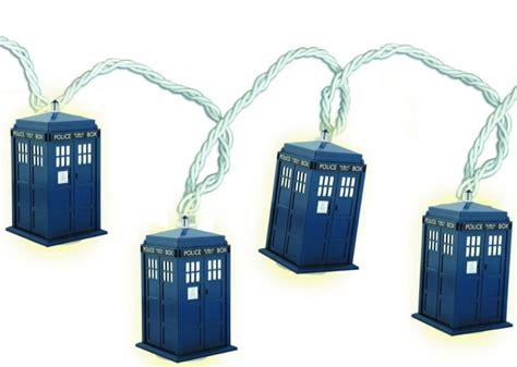 Doctor Who Tardis String Lights Tardis String Lights
