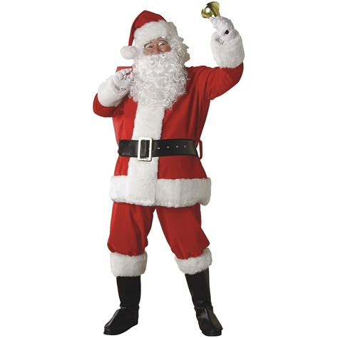 santa claus costume adult suit christmas outfit fancy