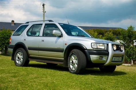 opel jeep frontera 187 car information ratings and reviews
