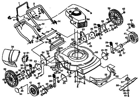 craftsman self propelled lawn mower parts diagram craftsman lawn mower parts model 917380520 sears