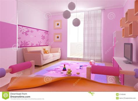 children s room interior images children s room interior royalty free stock photos image 2743648