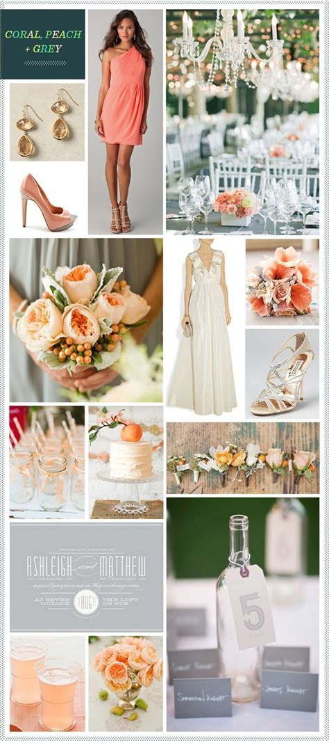 Best 25  Coral grey weddings ideas on Pinterest   Coral