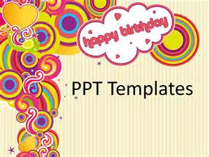 Happy Birthday Powerpoint Templates by Free Birthday Card Templates Gangcraft Net
