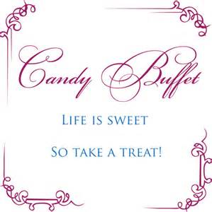 life is sweet candy buffet sign bellus designs