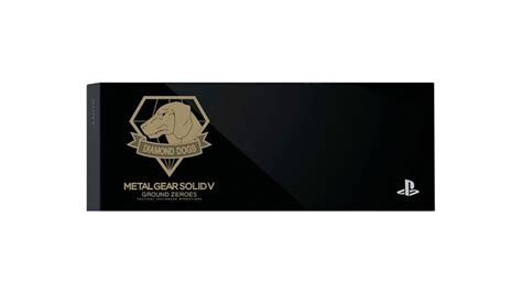 Hdd Cover Ps4 new mgsv ground zeroes themed hdd covers for playstation 4