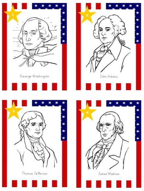 printable pictures presidents 27 kids activities for presidents day tip junkie
