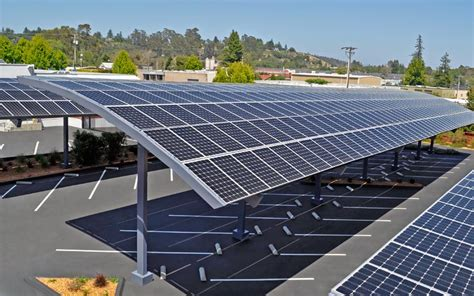 Solar Car Port by Top Solar Pv Parking Structure Manufacturers