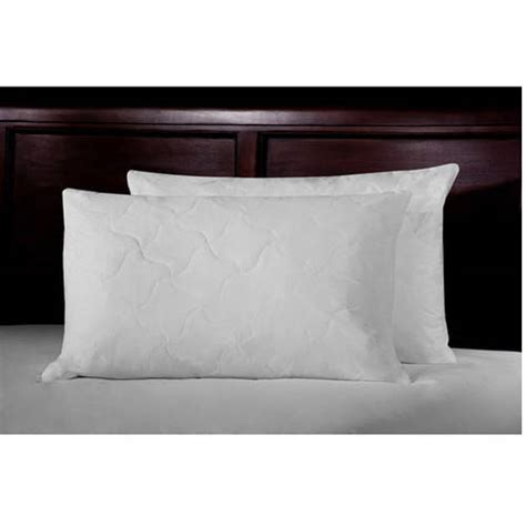 feather bed pillows ultrasoft quilted feather bed pillows set of 2 walmart com