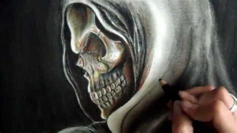 imagenes de una calavera fumando c 211 mo dibujar una calavera youtube