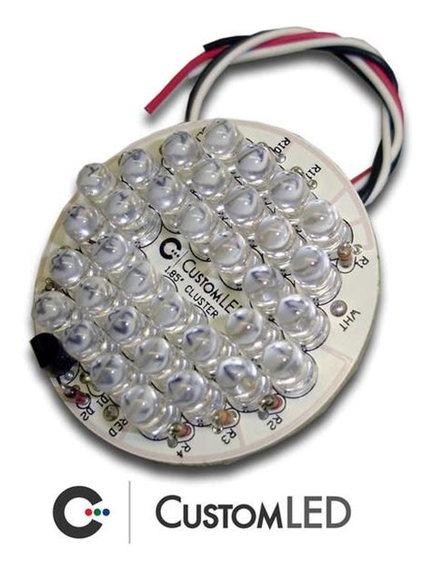 universal round led clusters colorchange for run turn