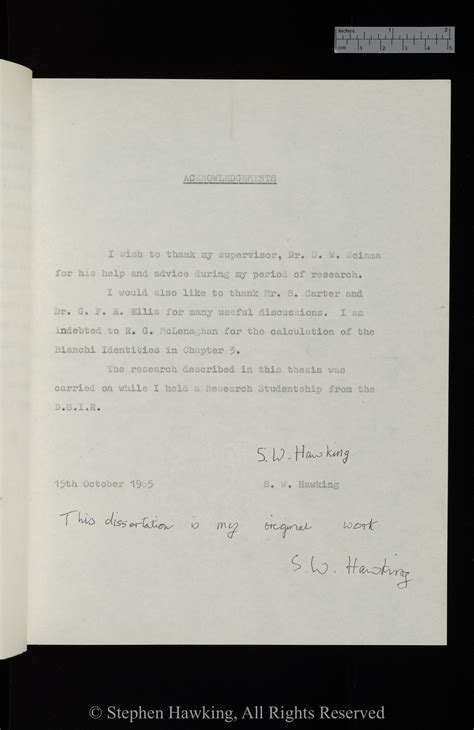 Stephen Hawking Essay by Stephen Hawking S Phd Thesis Goes For Time