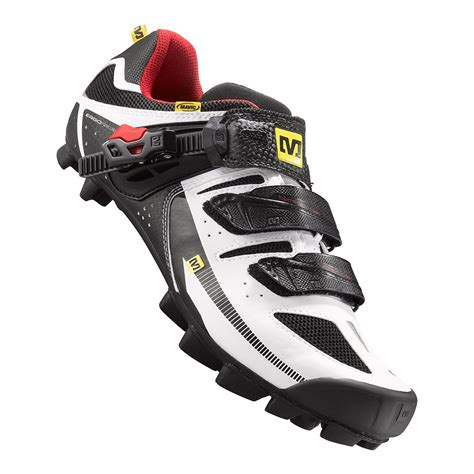 mtb shoes mavic mtb cycling shoes white black 2015