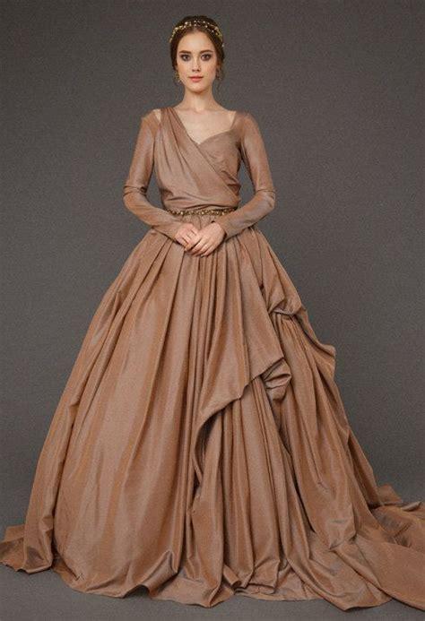 Dress Brown best 25 brown wedding dresses ideas on brown