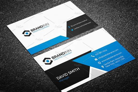 buisness card templates modern business card template business card templates creative market