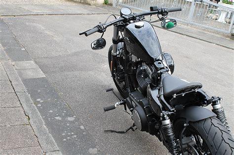 Harley Sportster 48 Tieferlegung by Txt Customparts Metallheckteile Schutzbleche