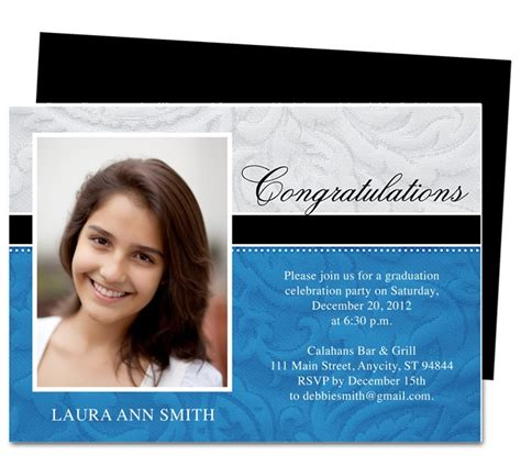 1000 Images About Printable Diy Graduation Announcements Templates On Pinterest Orange Pink Grad Announcement Template