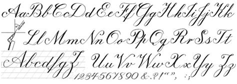 Outside Home Design Online by Sample Calligraphy Styles Dummies