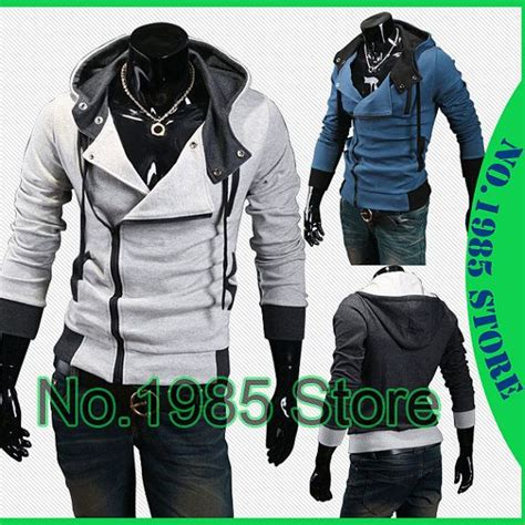 anime jacket custom autumn winter anime mens assassin s creed 3 hoodie