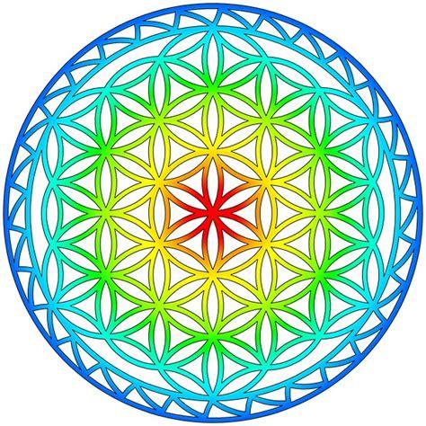 il fiore della vita significato simboli principali della geometria sacra