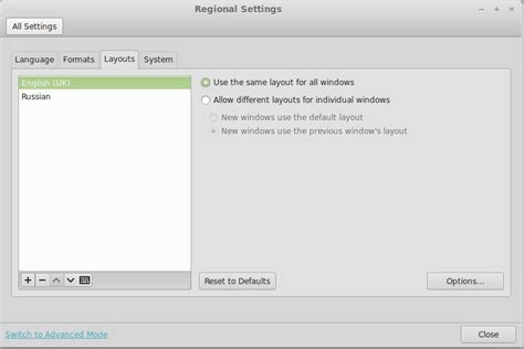 keyboard layout xfce how to configure keyboard layouts in xfce cinnamon mate