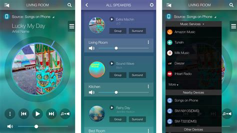samsung multi room app samsung s wireless audio multiroom app updated with new design and features sammobile