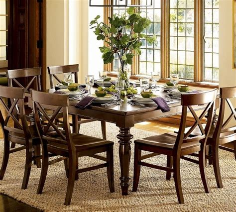 pottery barn dining room sets wooden dining set by pottery barn dinning tables pinterest