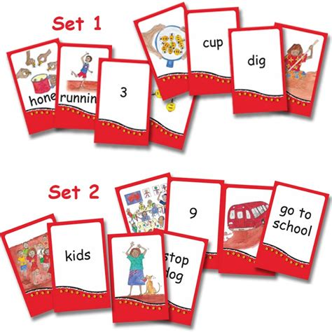picture cards honey ant readers picture and word cards