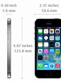 Image result for Apple iPhone 5s Dimension. Size: 120 x 160. Source: todayontech.com