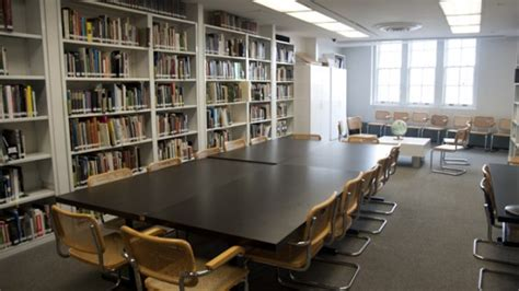 Cooper Library Study Room by Architecture Study Collection The Cooper Union