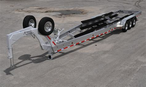 hi tech aluminum boat trailers sail access steel or aluminum boat trailer