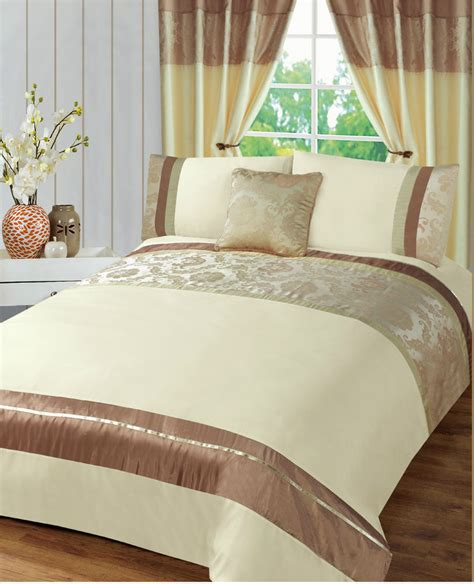 cream bedding set contemporary cream jacquard damascus duvet cover bedding