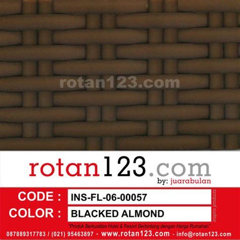 Sassyblu Bantal Sofa Florida Q3100l rotan sintetis ins fl 06 00057 blacked almond