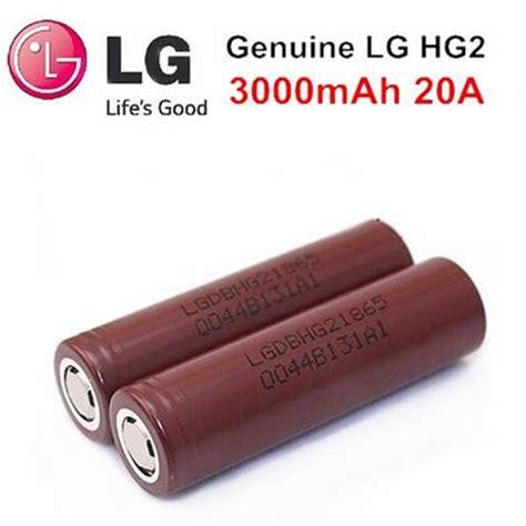 Lg Hg 2 Authentic Lg Hg2 18650 2 lg hg2 20 3000 mah 18650 battery