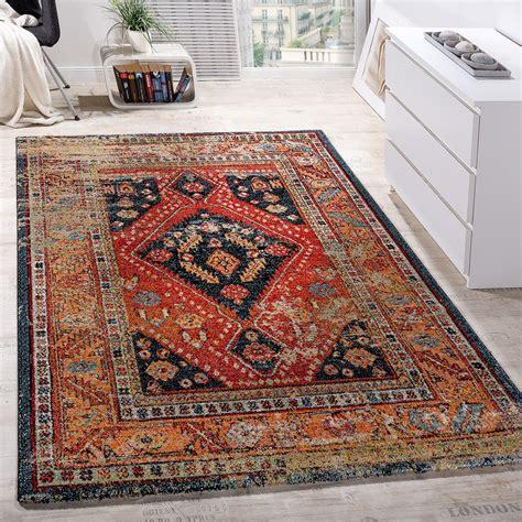 Teppiche Orientalisch by Designer Teppich Orientalisch Schwarz Rot Design Teppiche
