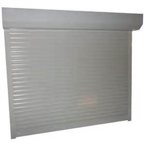 porte de garage aluminium enroulable motoris 233 standard