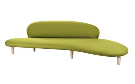 noguchi sofa noguchi free form sofa anthracite design within reach