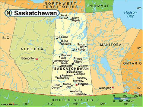 map of saskatchewan canada with cities saskatchewan political map by maps from maps
