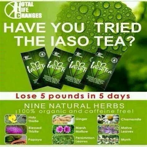 Lose Weight In 5 Days Detox by 9 Herbs Herbal Detox Tea Lose 5 Pounds In 5 Days
