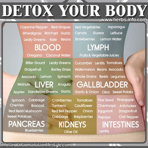 How To Detox On Food by Detox Your Herbs Info