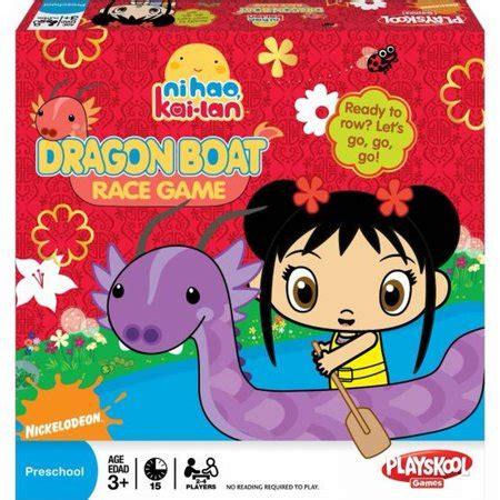 ni hao kai lan dragon boat race playskool nihao kai lan dragon boat race preschool game