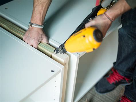 how to install lower kitchen cabinets how to make bunk beds and bedroom storage with ready made