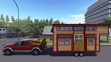 Man Invents Expandable Tiny Houses With Pop Outs Expandable Tiny House