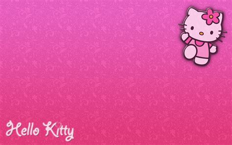 wallpaper hello kitty warna pink hello kitty hd wallpapers wallpaper cave