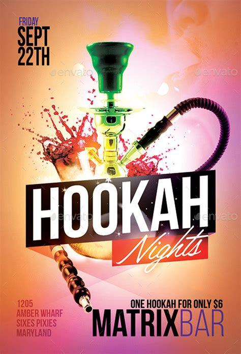 Hookah Party Flyer