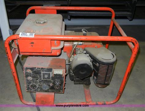 wisconsin engine serial number lookup multiquip ey25w 3 5 kw generator item 2447 sold may